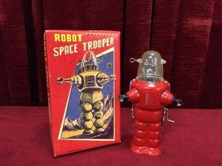 Crank Friction Motor 6 5  Tin Robot