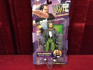 1998 Kevin Matchstick 8  Action Figure
