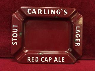 Carlilng Red Cap Ale Ashtray