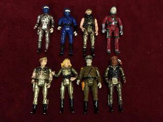 8 1981 Metal GI Joe Action Figures   Nego Corp