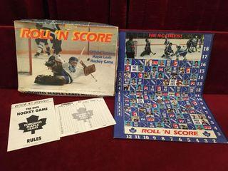 1983 TMl Roll  N Score Board Game   Note