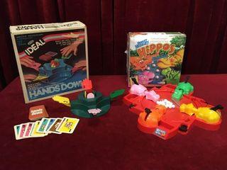 1981 Hands Down   2000 Hungry Hippos Games