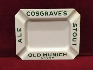Cosgrave s Old Munich lager Ashtray