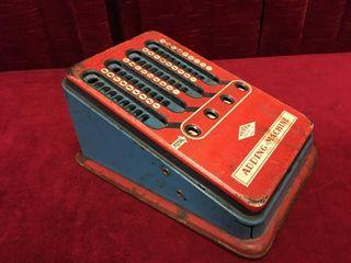 1950s Wolverine Tin Adding Machine