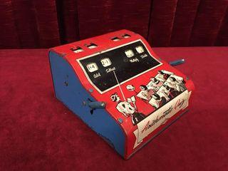1950s Wolverine Tin Arithmetic Quiz Machine
