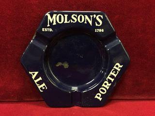 Molson s Ale   Porter Ashtray