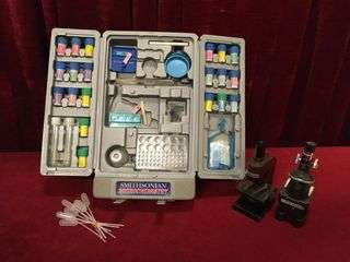 Microchemistry Set   2 Microscopes