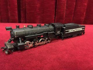Tyco HO 638 Steam Engine w  Tender