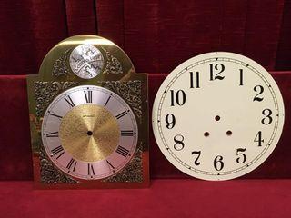 2 Grandfather Clock Faces