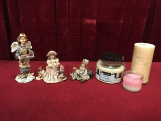 Boyds Bears   Yesterday s Child Figures   Candles