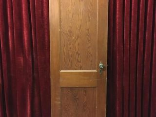 Antique Wood Door   24  x 1 5  x 78