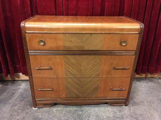 Vintage Hepworth Furniture Wood Dresser