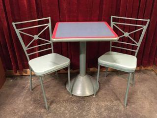 Retro McDonald s Restaurant Table for Two