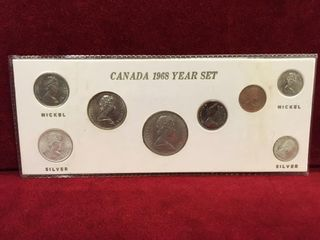 1984 Royal Canadian Mint Specimen Coin Set
