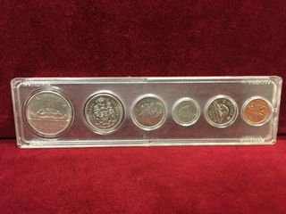 1969 Canada Coin Set   Uncirculated