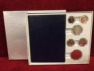 1974 City of Winnipeg Coin Set   Uncirculated