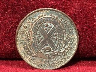1841 Bank of Montreal Token