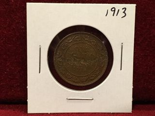 1913 Canada large1 Coin