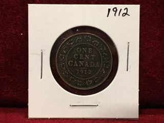 1912 Canada large 1 Coin