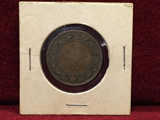 1917 Canada large 1 Coin