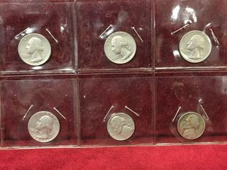4   25   2   5 US Coins 1963   1973