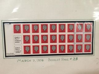 1978 Canada Complete Mint Booklet