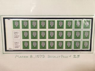 1979 Canada Complete Mint Booklet