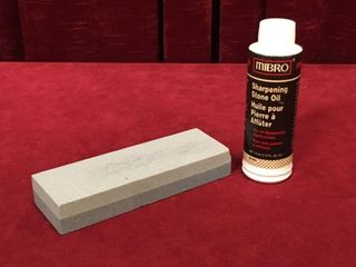 6  Sharpening Stone w  Oil  1 4 Can