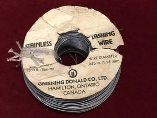 045  x 1200ft Stainless Steel Wire
