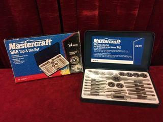 Mastercraft 24pc SAE Tap   Die Set   As New