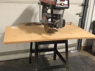 Craftsman 10  Radial Arm Saw w  Stand