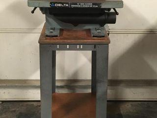 Delta 12  Disc Sander   1 2hp   1725rpm w  Stand
