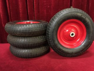 4 4 80 4 00 8 Tires on Rims   New