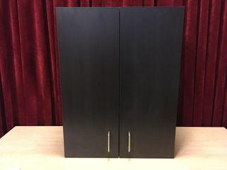 2 Door 2 Shelf Cabinet   23  x 13  x 30