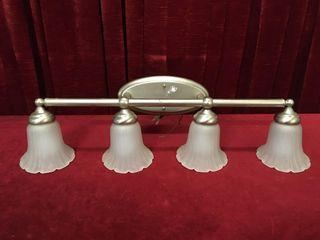 4 Bulb Vanity light   32 wide