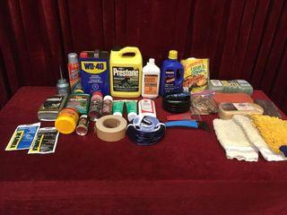 Various Shop   Garage Items   Note