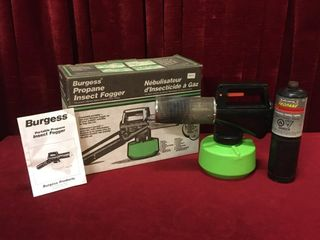 Burgess Propane Insect Fogger   Note