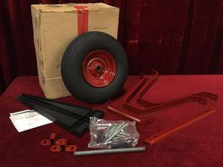 Wheelbarrow Kit Minus Tub   Handles   NOS