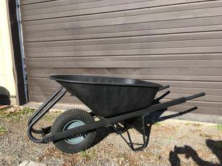 Yardworks All Metal Wheelbarrow   New Tube