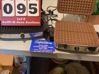 Pair of Waffle Irons