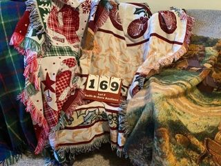 Assorted Blankets   Throws