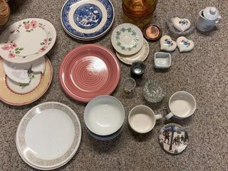 Plates and Assorted Dishes
