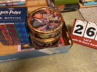 lot of Harry Potter Books   Items