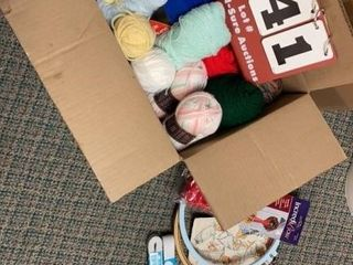 lot of Assorted Yarn   Items