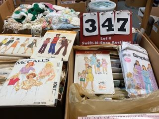 lot of Assorted Sewing Patterns
