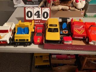 lot of Assorted Toys Cars   Trucks