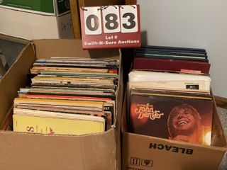 lot of lP Record Albums