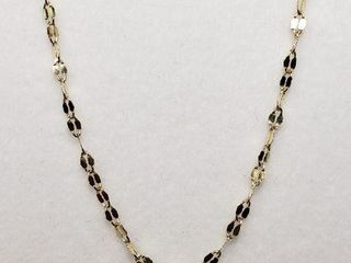 18K YEllOW GOlD CHAIN  lENGTH 18 WEIGHT 1G
