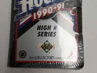 NHl HOCKEY 1990 91 HIGH NUMBER SERIES BOXED SET
