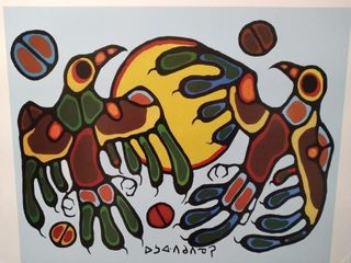 THUNDERBIRDS SUN DANCE PRINT BY NORVAl MORRISEAU